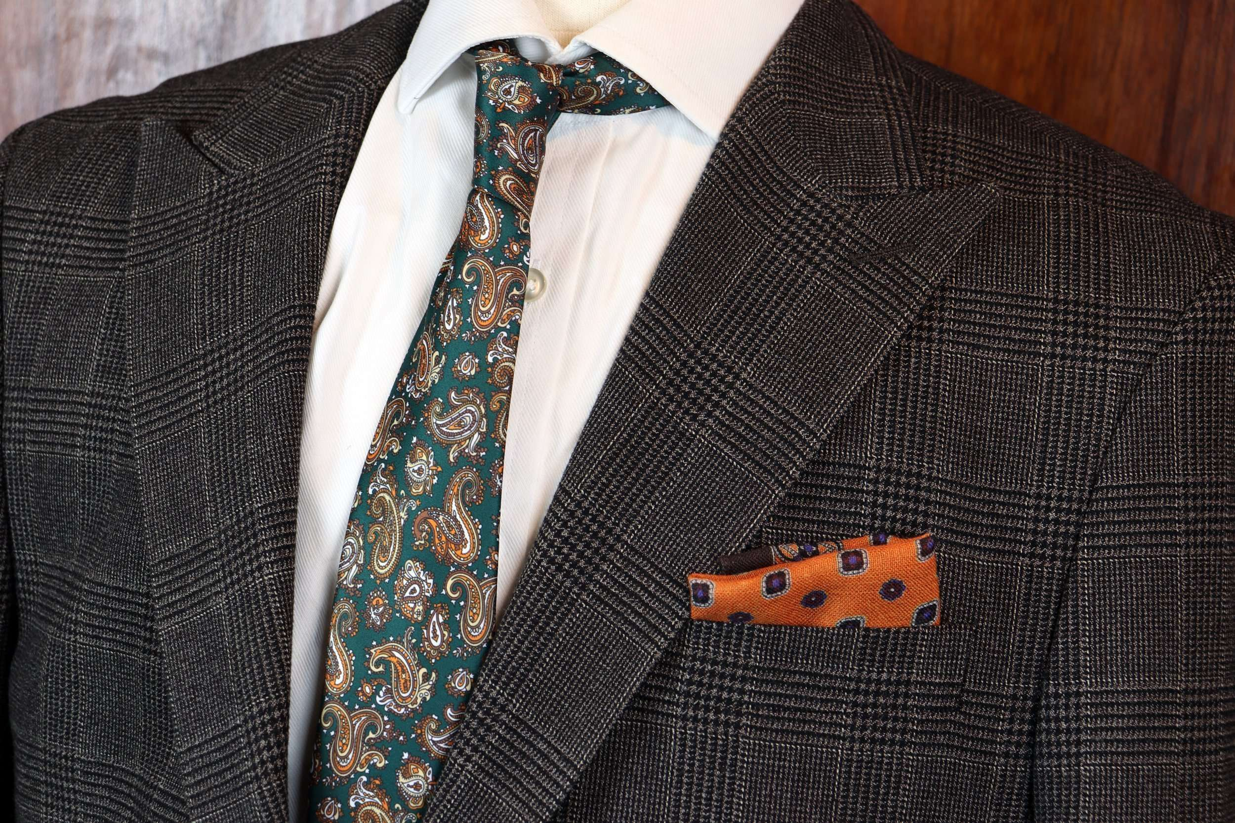 tailored-suits-dublin-brown-check-cotton-wool-blend
