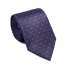 Luxury Navy Medallion Printed Tie