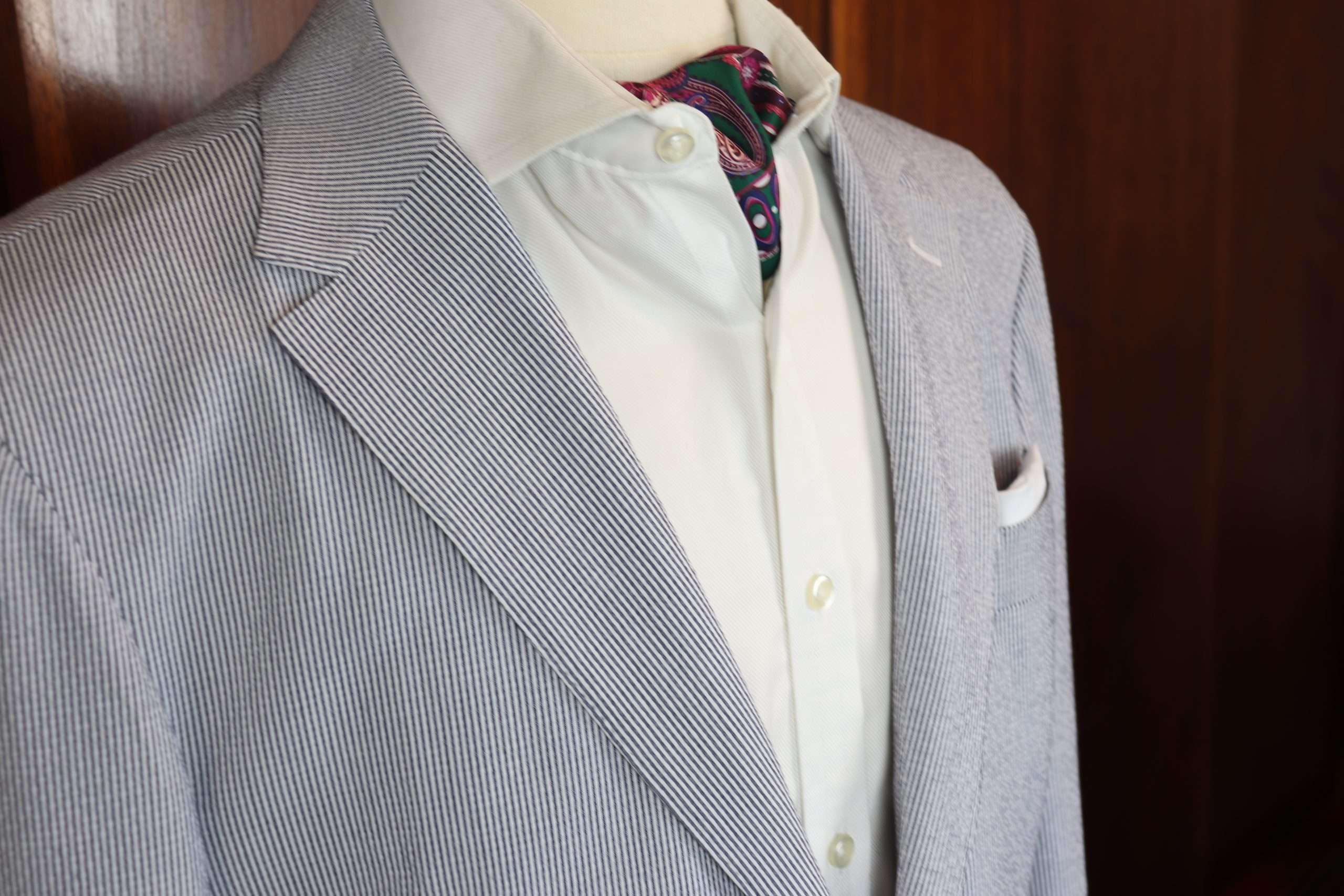 Seersucker Wedding Suit